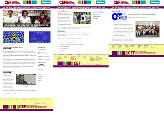 Website Design: CEF